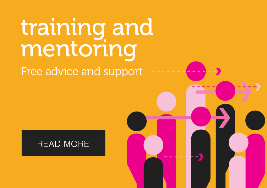 Training and Mentoring Web logo