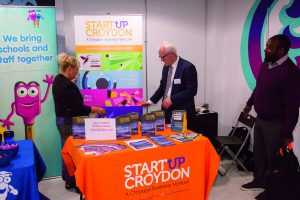 StartUp Croydon's Stall at an Event