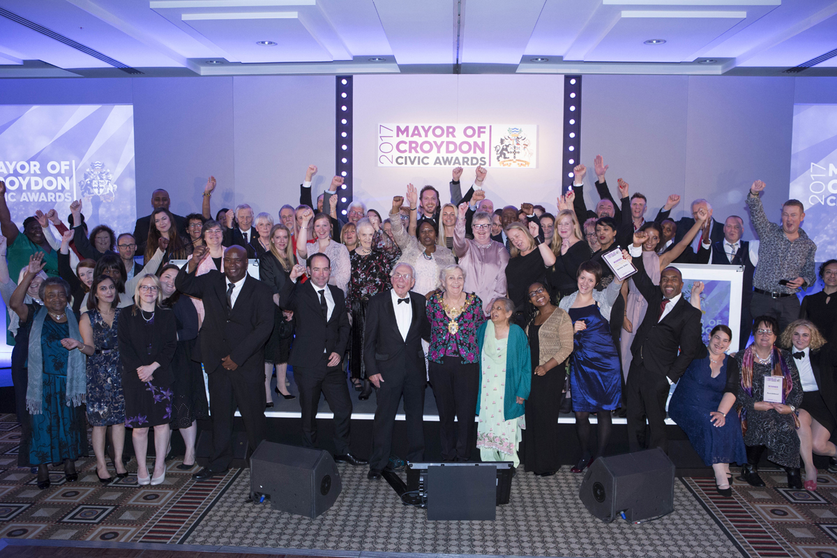 StartUp Croydon celebrates community heroes at Mayor's Civic Awards