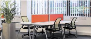 One of the hot-desking areas at The Xchante Hub in Croydon