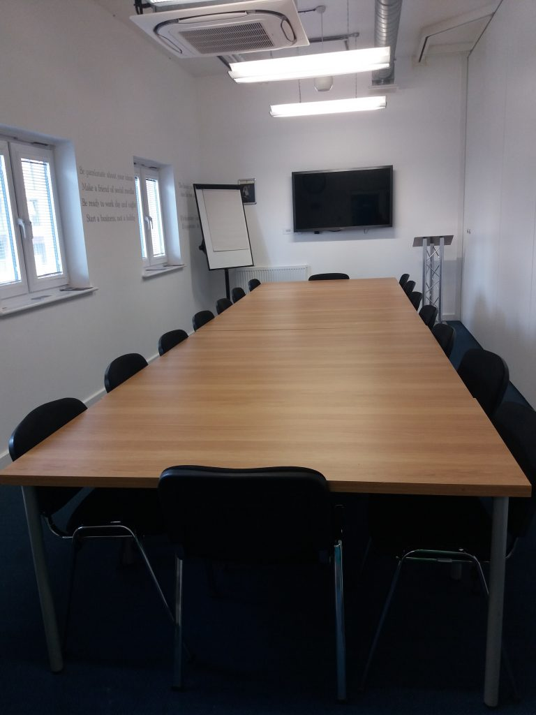 Photo of the Board Room at Weatherill House