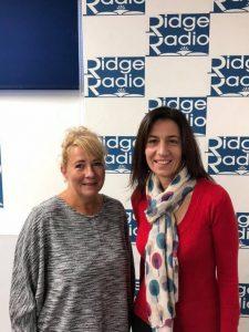 Feyley Barnham or StartUp Croydon and Chantal of Ridge Radio - October 2018 Business Show